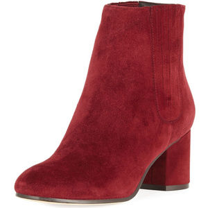 New Joie Remmie Suede Ankle Booties